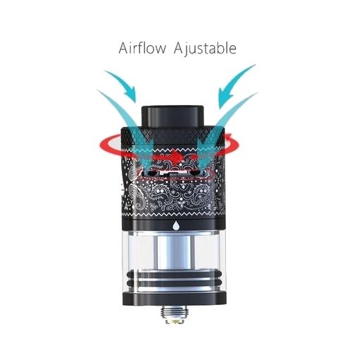 Airflow ajustable